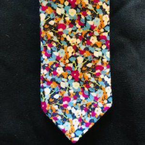 NWT Topman 100% Cotton Multicolor Tie